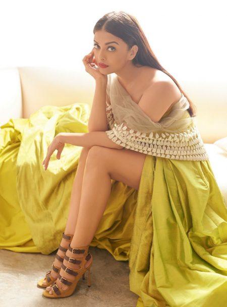 Aishwarya Rai Bachchan Stuns in Elegant Gowns for Harper's Bazaar India