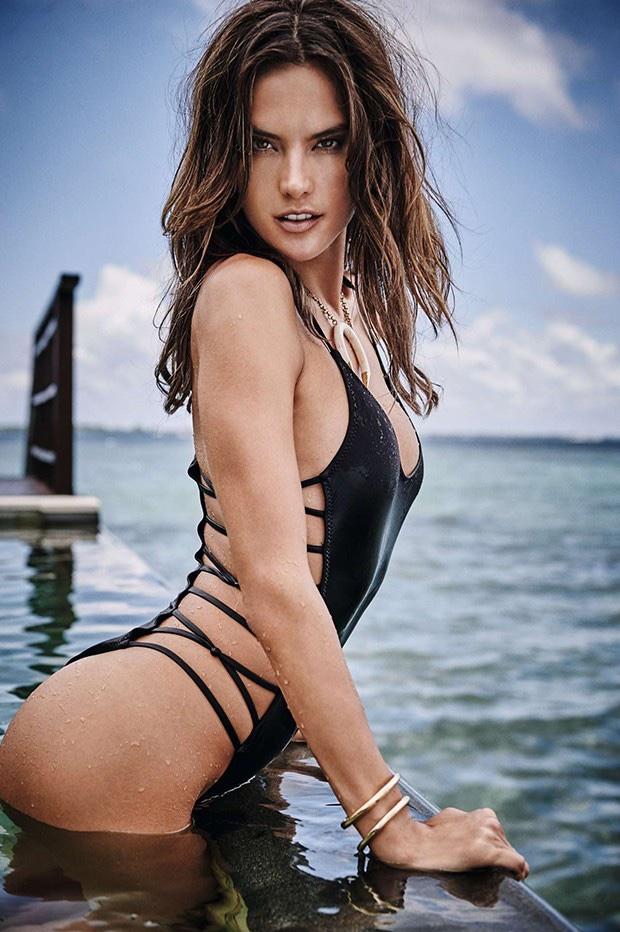 Alessandra Ambrosio Models Bikinis in Sexy GQ Brazil Photos