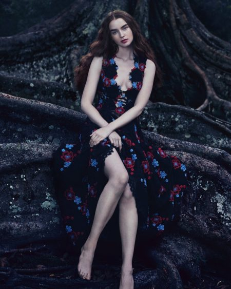 Ali Michael Mesmerizes in Floral Gowns for How to Spend It