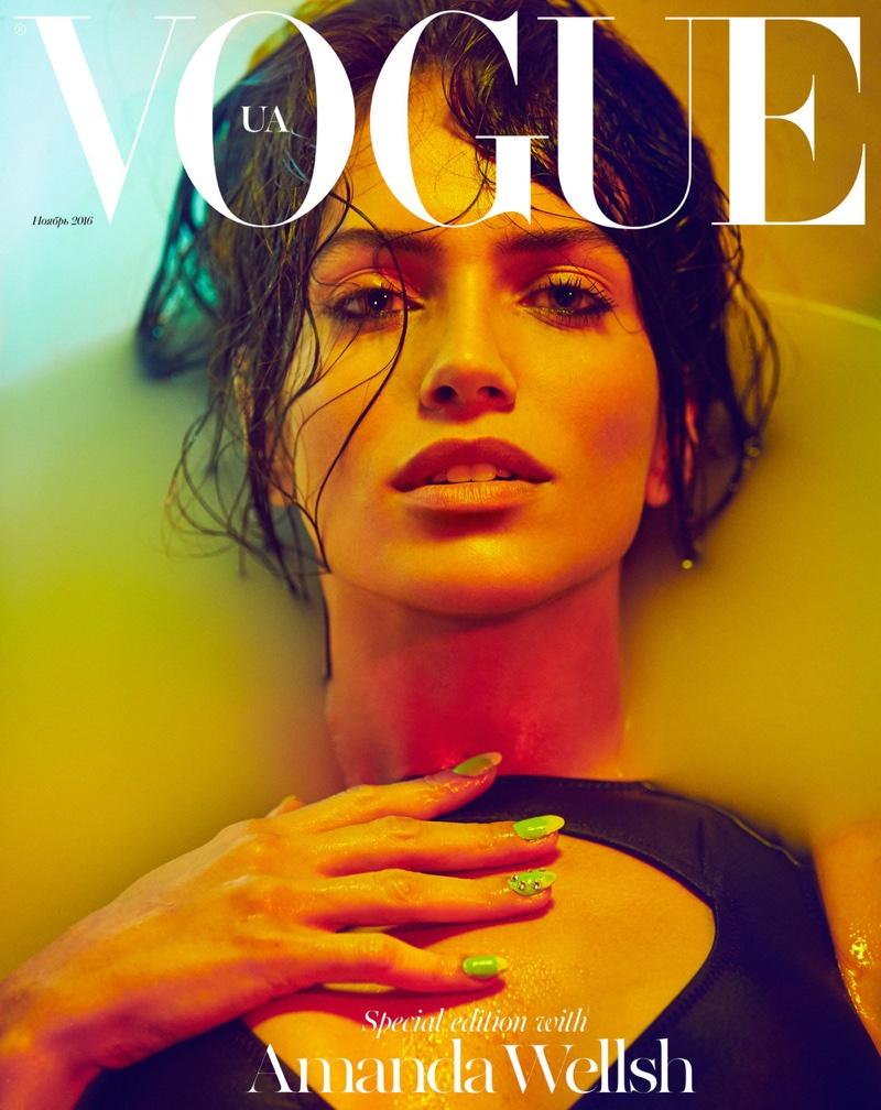 Amanda Wellsh on Vogue Ukraine Special November 2016 Cover
