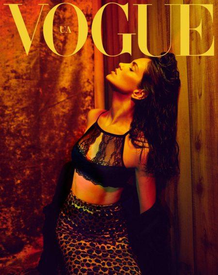 Amanda Wellsh Heats Up Vogue Ukraine Editorial