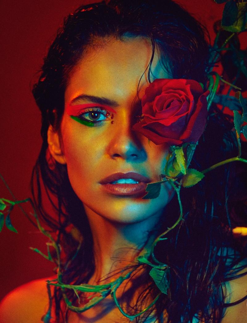Amanda Wellsh Heats Up Vogue Portugal Editorial