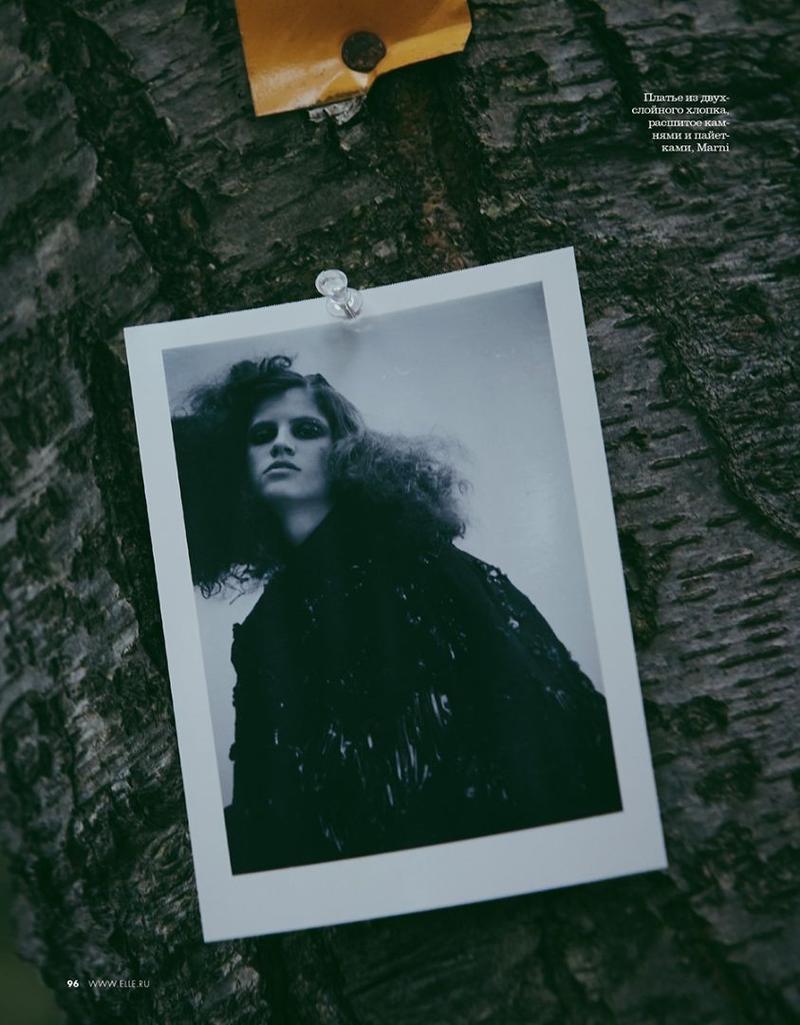 Antonina Petkovic Enchants in Moody Looks for ELLE Russia | Fashion Gone Rogue
