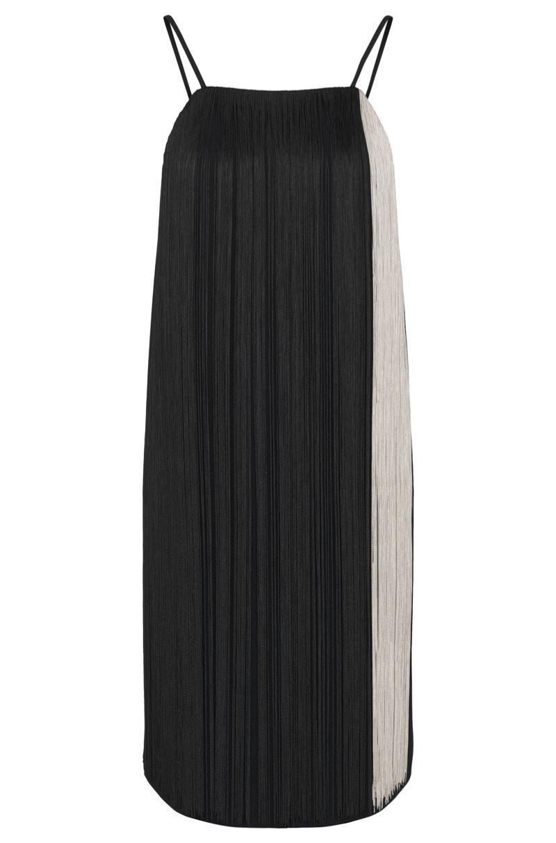 BOSS Dafryna Full Fringe Shift Dress