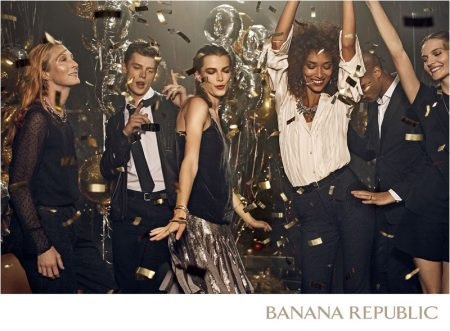 Banana Republic Brings a Festive Mood to Holiday '16 Campaign