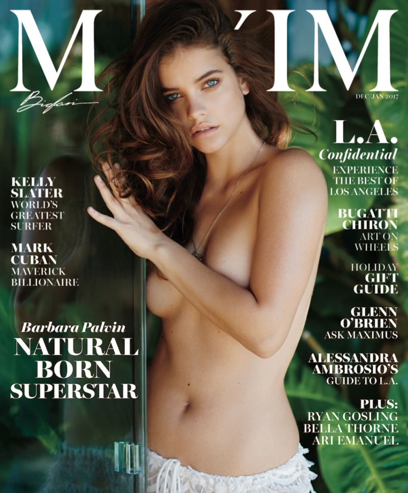 Barbara Palvin on Maxim Magazine December/January 2017 Cover