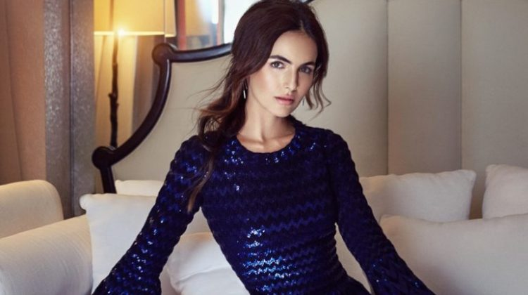 Camilla Belle Wears Glamorous Style for Hello! Fashion