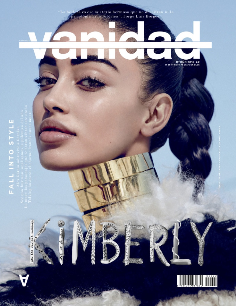 Cindy Kimberly Channels Glamazon Style for Vanidad Magazine .