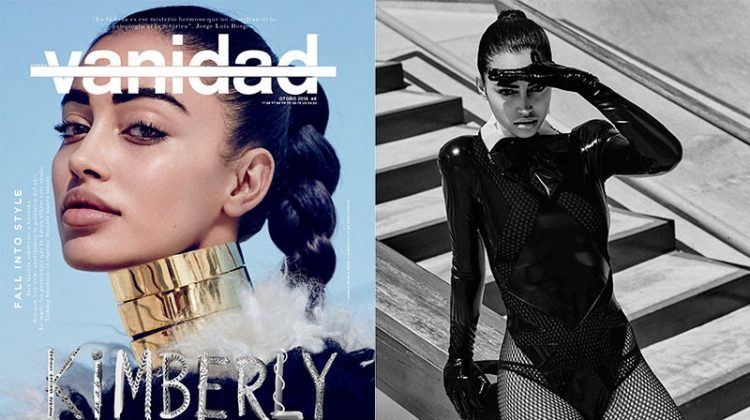 Cindy Kimberly Channels Glamazon Style for Vanidad Magazine