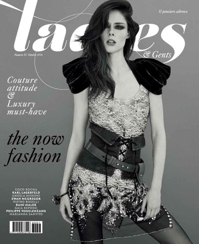 Coco Rocha on Ladies & Gents October 2016 Cover
