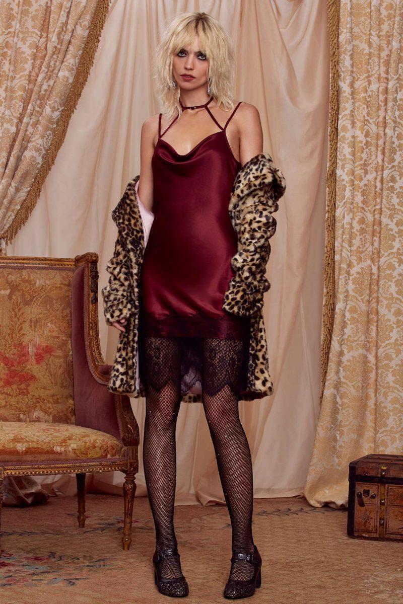 Courtney Love x Nasty Gal Night Moves Slip Dress