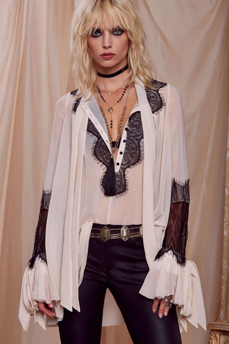 Courtney Love x Nasty Gal Palladium Blouse