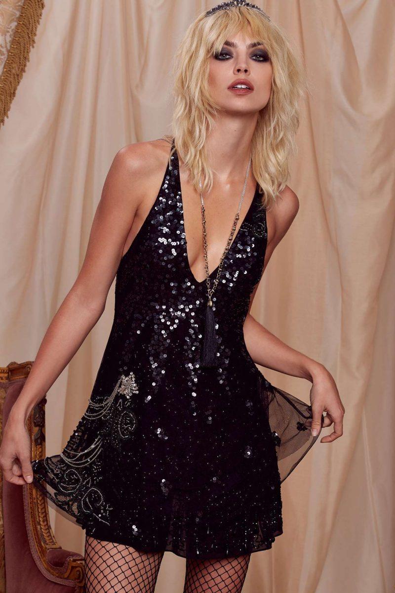 Courtney Love x Nasty Gal Troubadour Dress