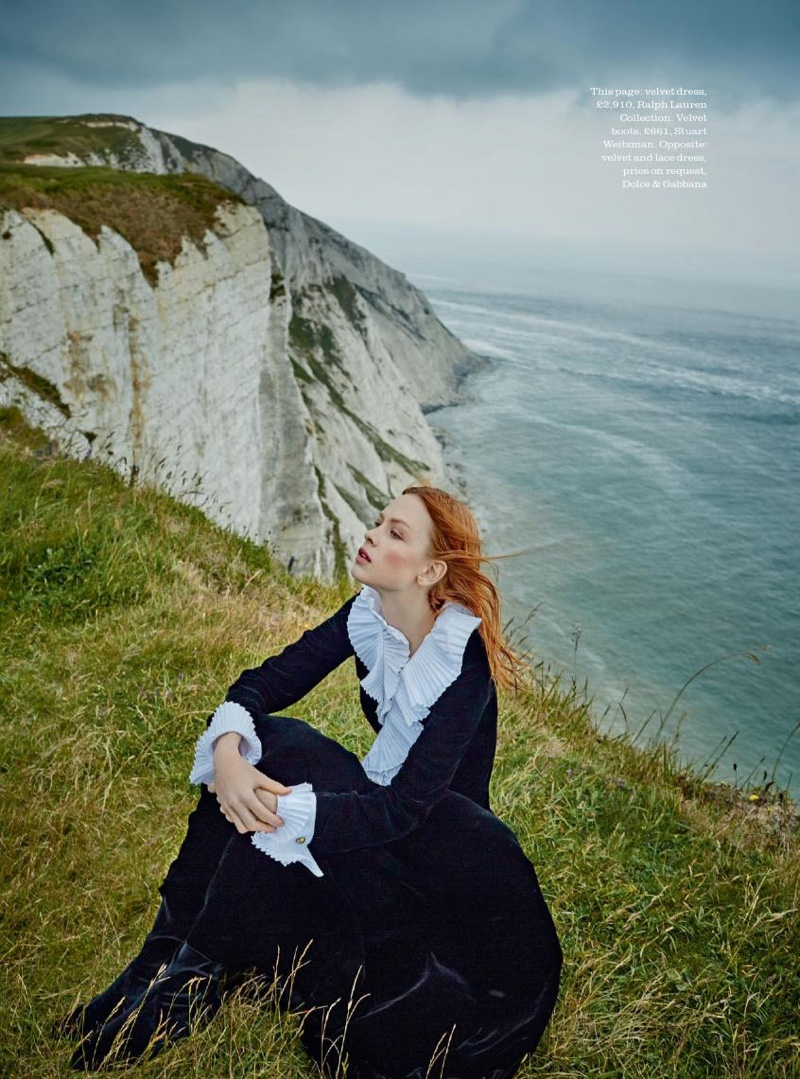 Dani Witt stars in Town & Country's autumn issue