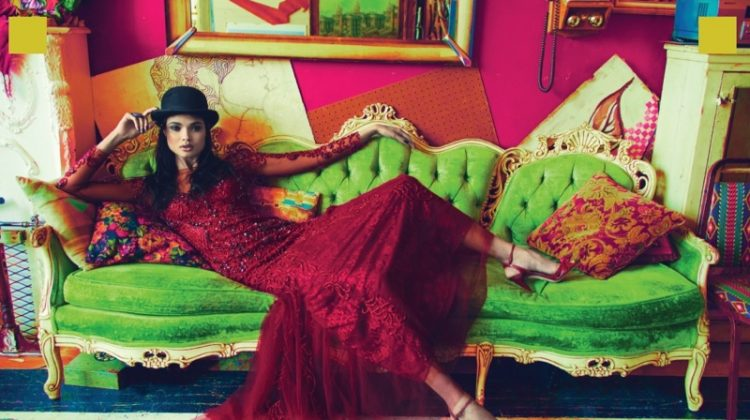 Daniela Braga Wears Eclectic Styles for L'Officiel Azerbaijan