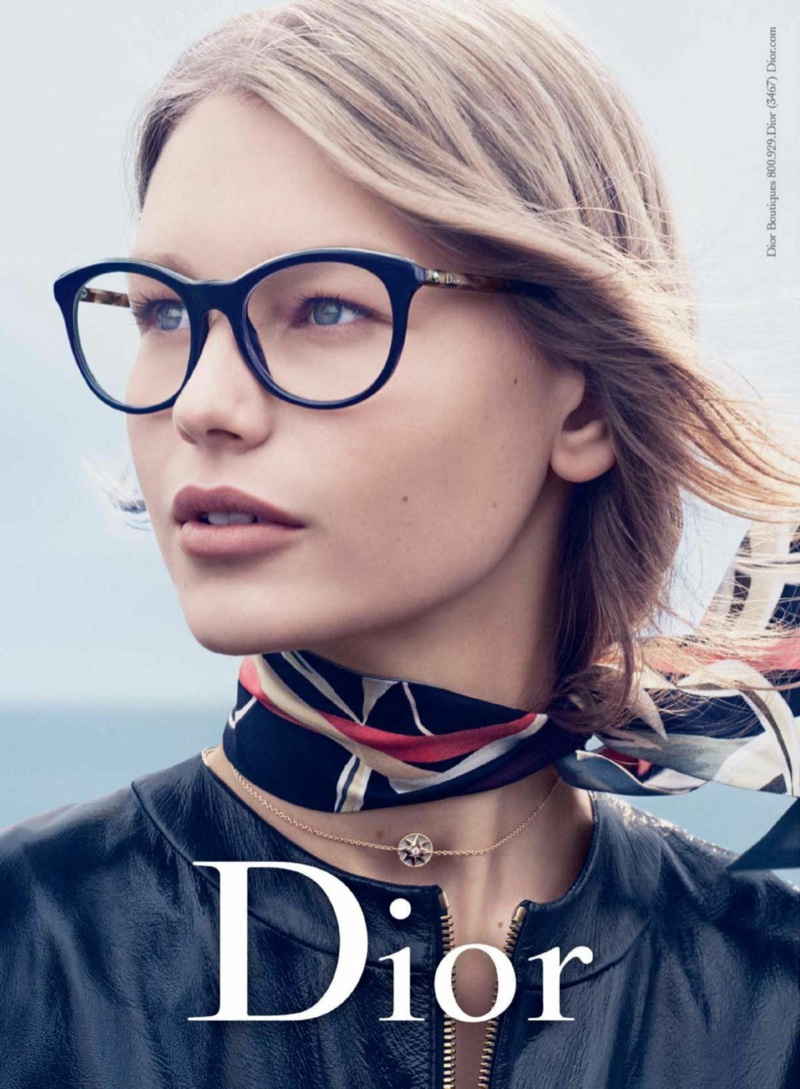 00d972878bd01 Sofia Mechetner stars in Dior Eyewear s fall-winter 2016 campaign