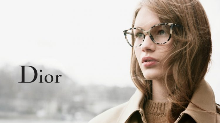 Sofia Mechetner Charms in Dior's New Eyewear Ads
