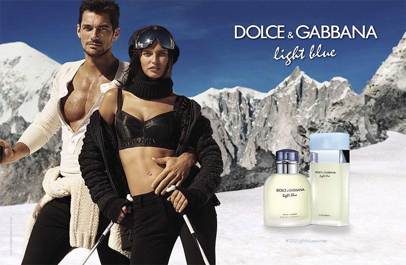 Bianca Balti and David Gandy star in Dolce & Gabbana Light Blue fragrance campaign