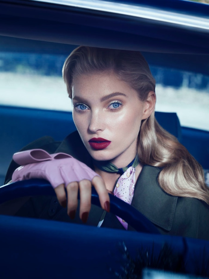 Elsa Hosk Serves Hitchcock Inspired Beauty in Vogue Mexico