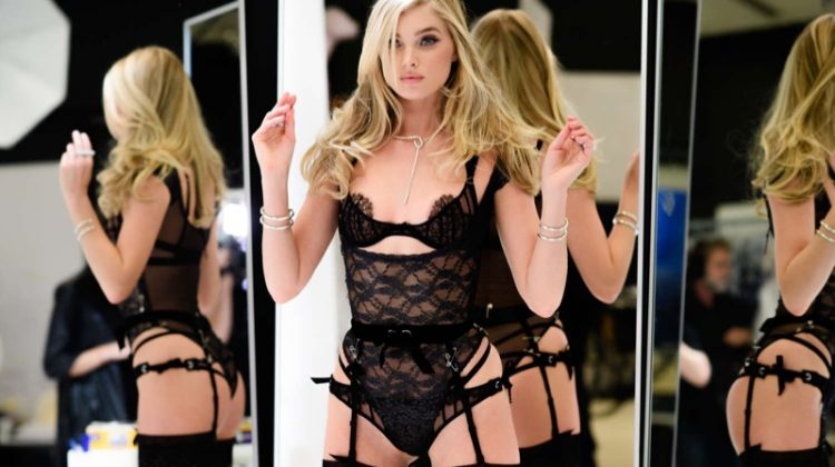Elsa Hosk Wows at Her Victoria's Secret Fashion Show Fitting