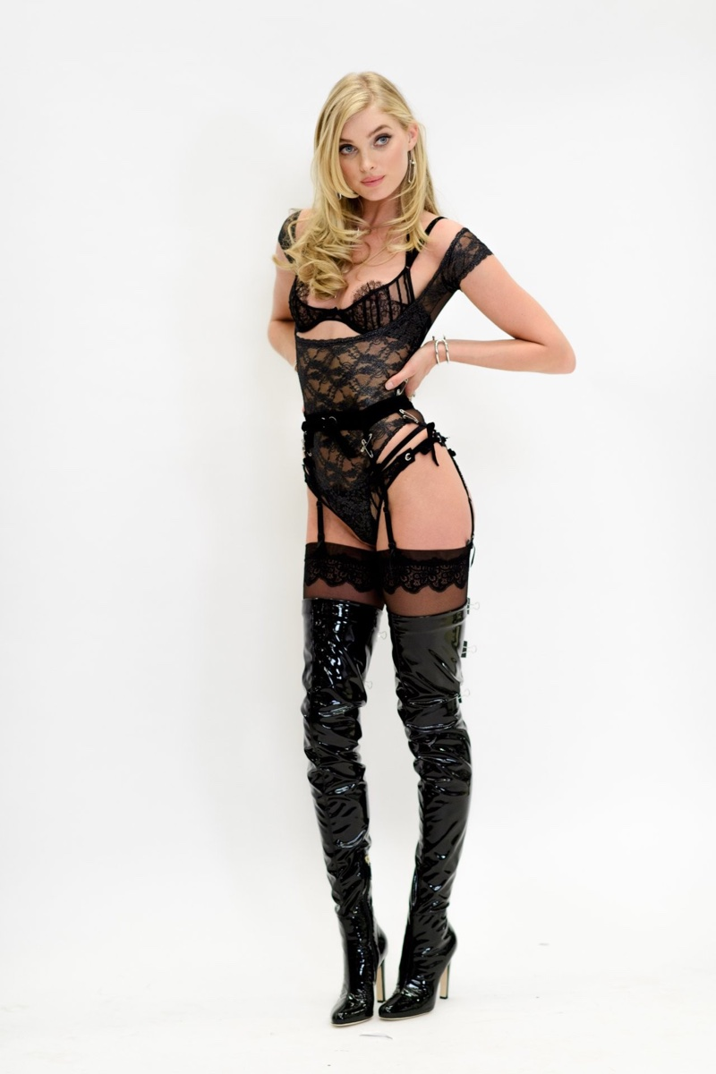 Elsa Hosk Wows At Her Victoria S Secret Fashion Show Fitting