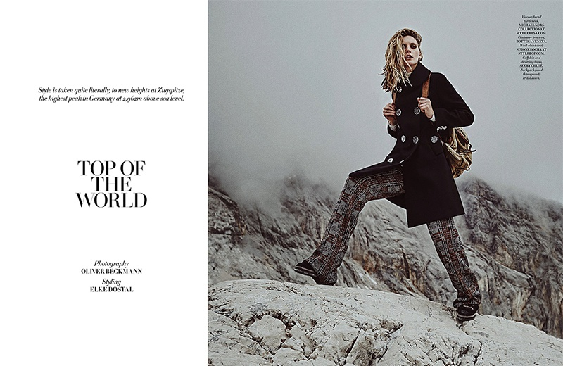 Emma Menteath stars in L'Officiel Singapore's December issue