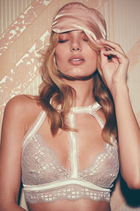 Bregje Heinen Sizzles in For Love & Lemons' Latest Skivvies Collection