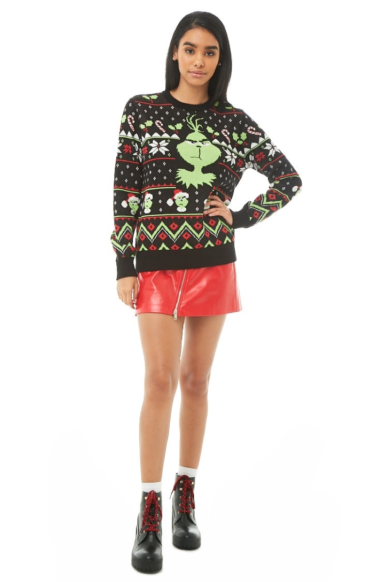 Forever 21 The Grinch Fair Isle Sweater $34.90
