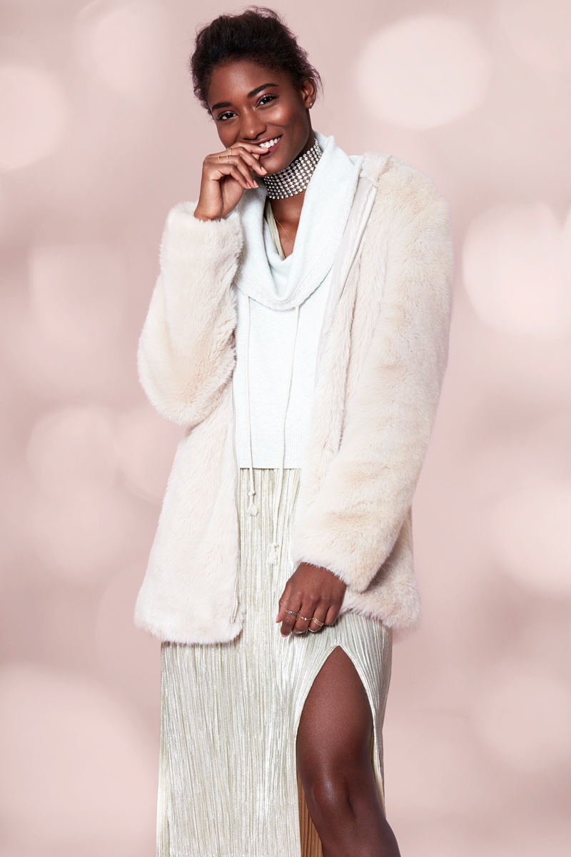 Melodie Monrose stars in Forever 21's holiday 2016 campaign