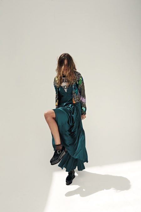 Andreea Diaconu is Ready for Party Season in Free People's New Arrivals