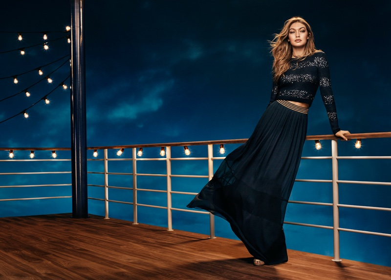 Gigi Hadid stars in Tommy Hilfiger's holiday 2016 campaign