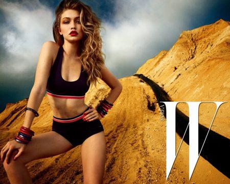 Gigi Hadid is a Blonde Bombshell for W Korea