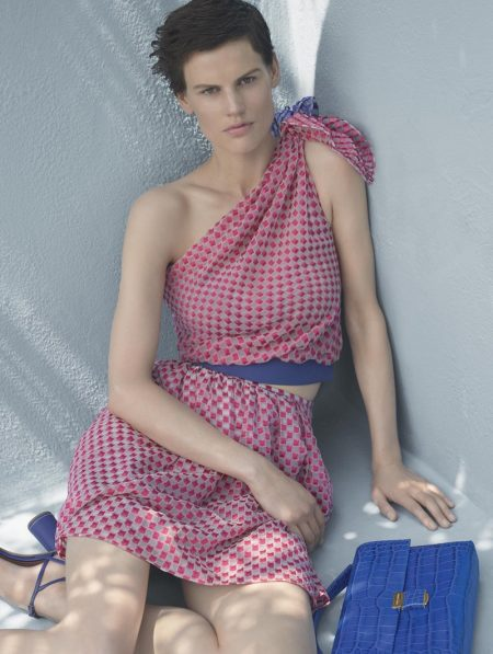 Saskia de Brauw Gets Relaxed in Giorgio Armani's Resort Campaign