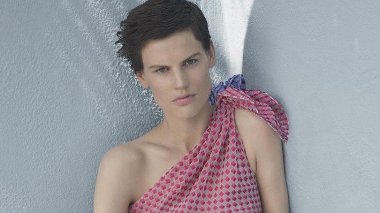 Saskia de Brauw Gets Relaxed in Giorgio Armani's Resort Campaign