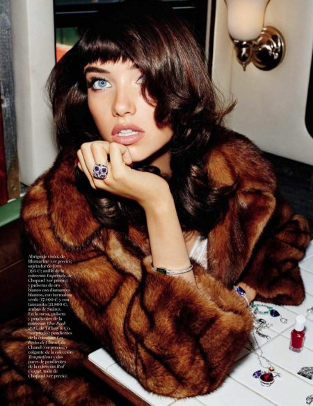 Grace Hartzel Embraces Glamorous Style for Vogue Spain