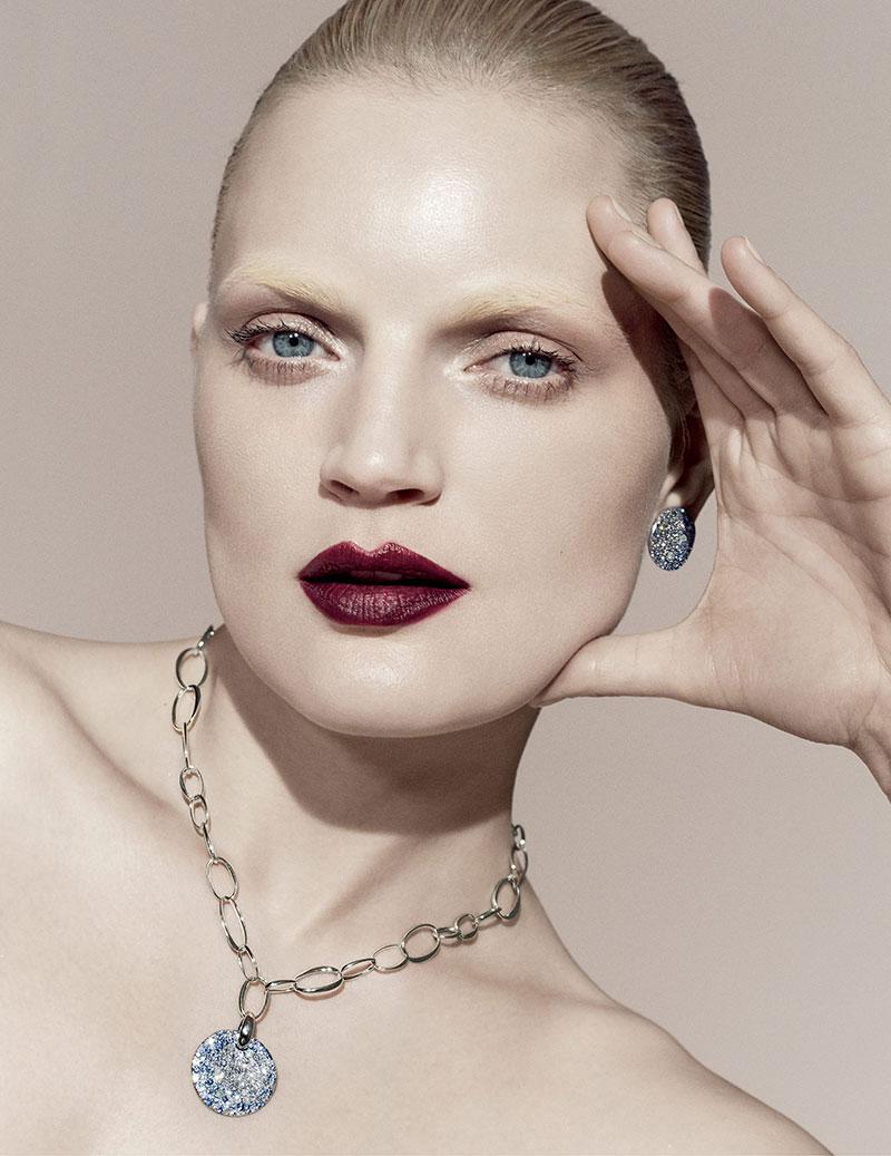 Guinevere Van Seenus Dazzles in Bergdorf Goodman's Designer Gems