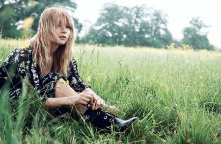 Haley Bennett is a Nature Girl in Dior Magazine