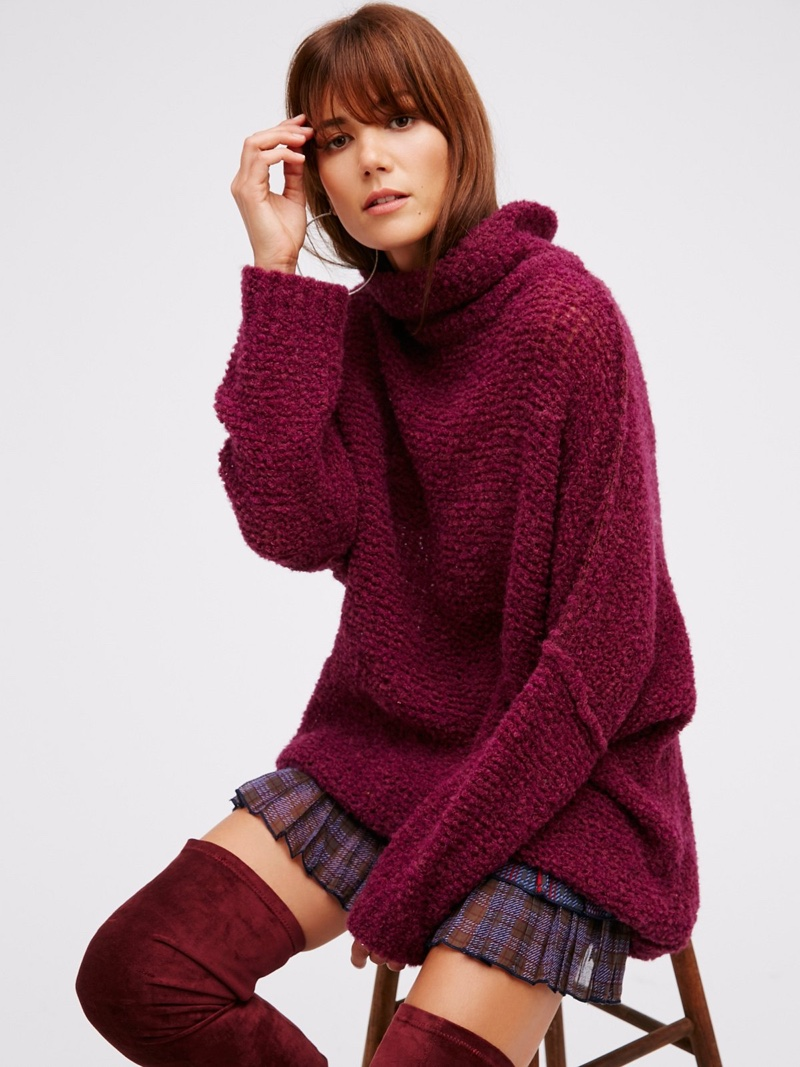 Free People In Her Element Tunic Sweater