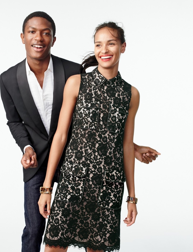 J. Crew Lace Dress with Pockets