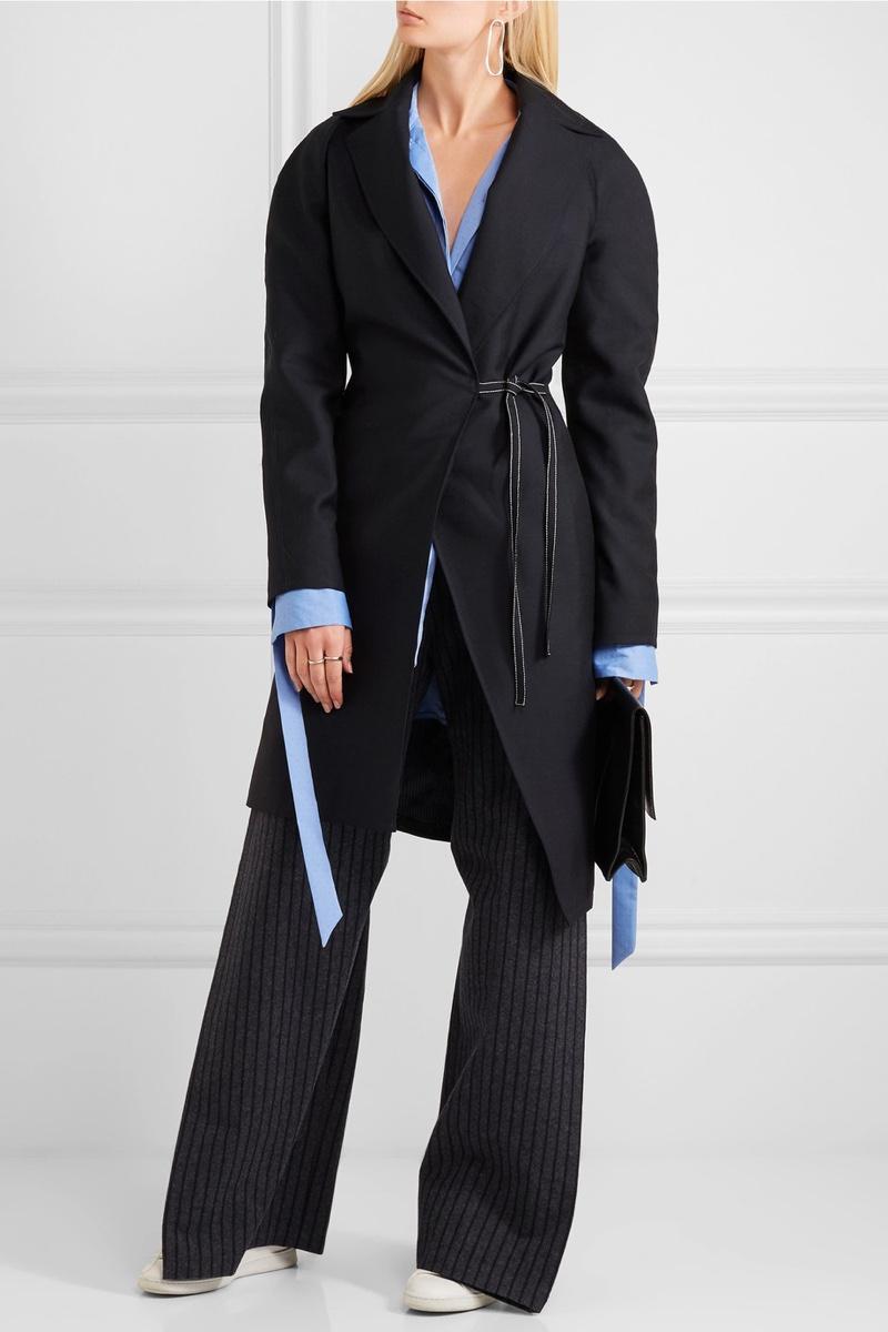 Jacquemus Wool Wrap Coat
