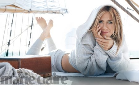 Jennifer Aniston Stars in Marie Claire, Talks Media Scrutiny