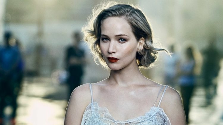 Jennifer Lawrence Dazzles in Opulent Looks for Vanity Fair