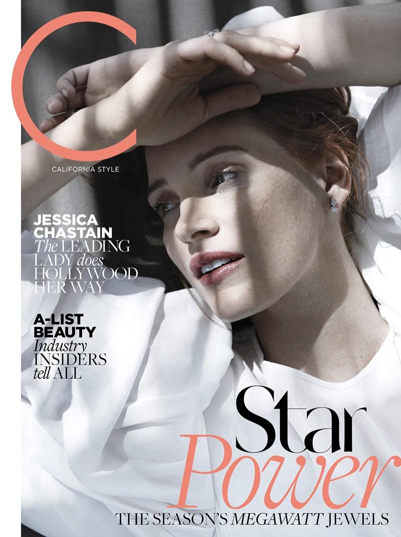 Jessica Chastain on C Magazine November 2016 Cover