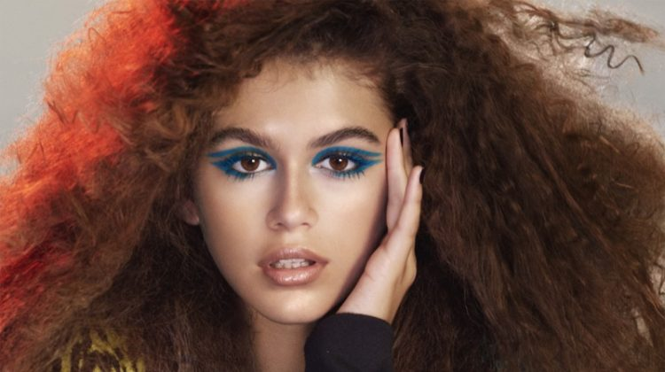 Kaia Gerber Turns Up the Glam in Marc Jacobs Beauty Campaign