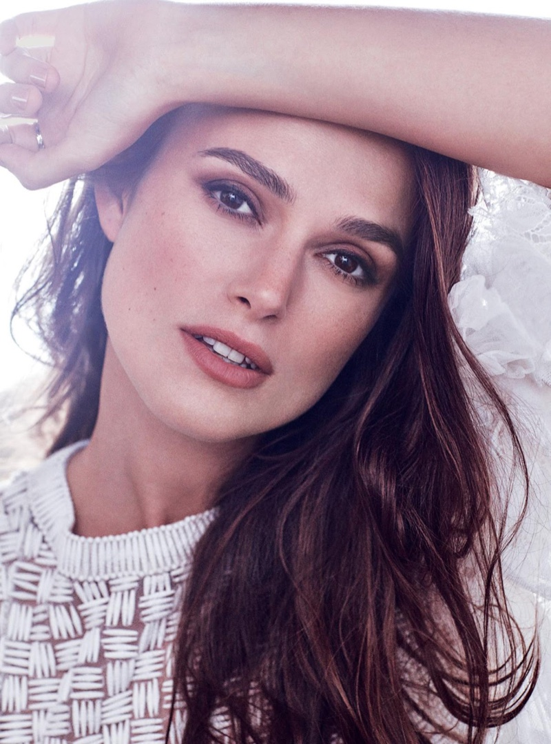 Keira Knightley Stuns in Chanel Fashions for Harper's ... Keira Knightley