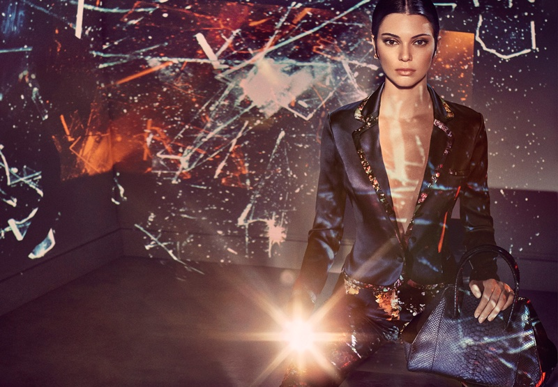 Kendall Jenner stars in La Perla's spring-summer 2017 campaign