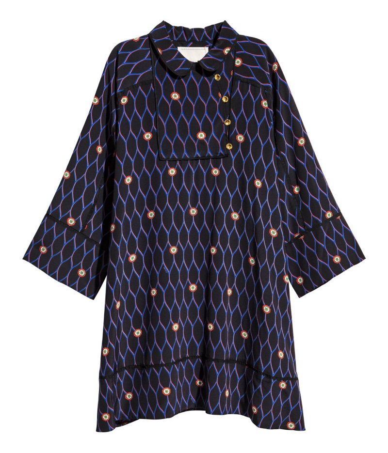 Kenzo for H&M Patterned Silk Dress