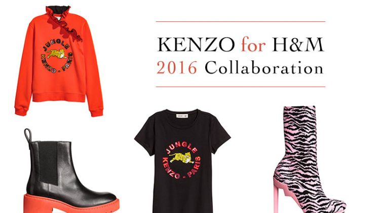 Just Landed: Kenzo for H&M is Finally Here!