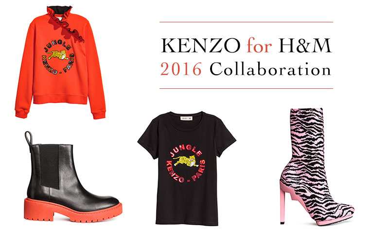 New arrivals: the Kenzo for H&M collaboration