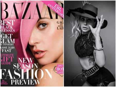 Lady Gaga Brings Back the Statement Hat for Harper's Bazaar